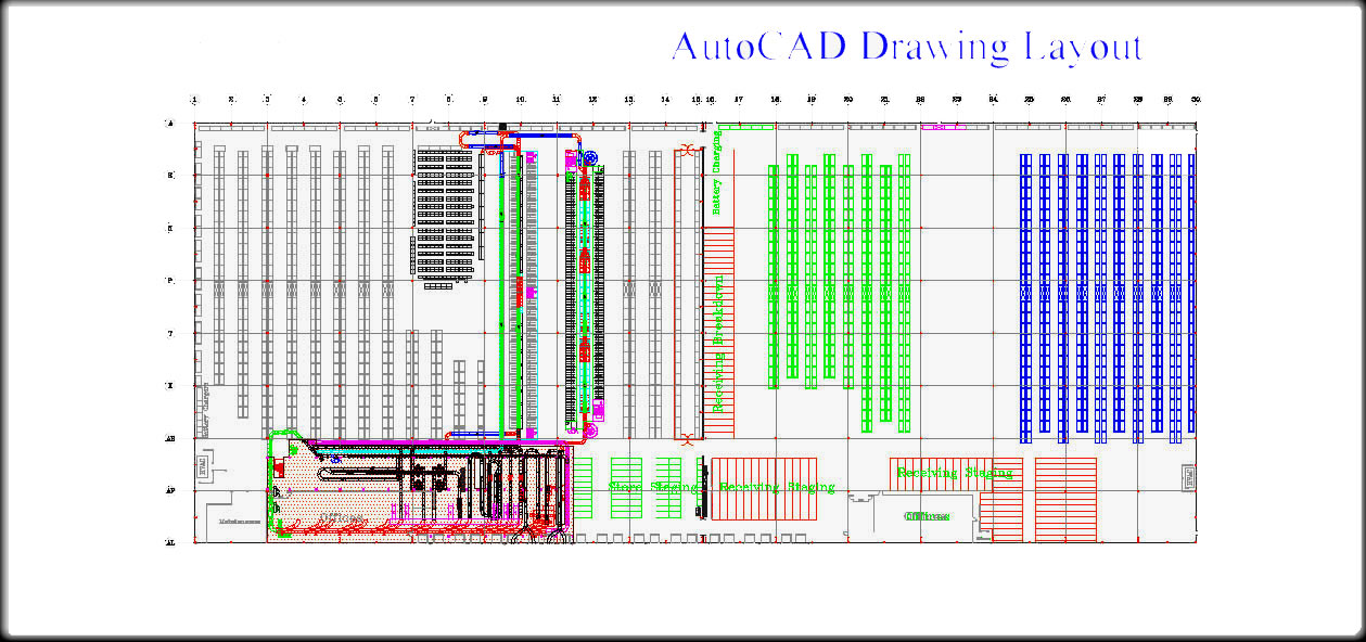 Consumer products distributor bldg 2 scantexas for Draw layout warehouse