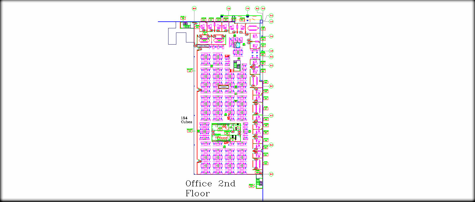Cell Phone Company Office Layout FS