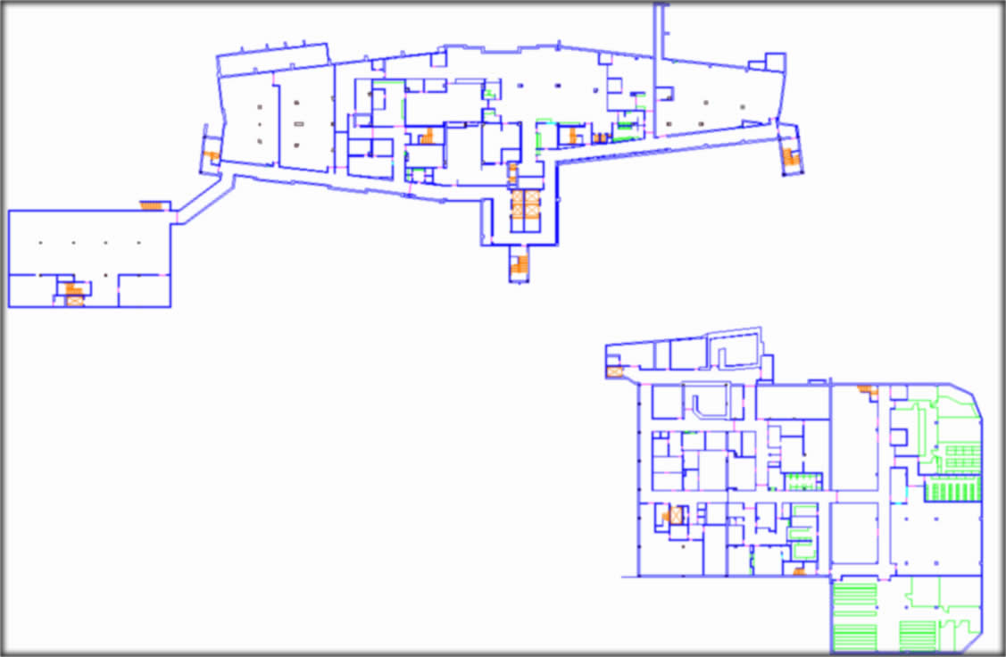 Hospital Layout FL1 FS