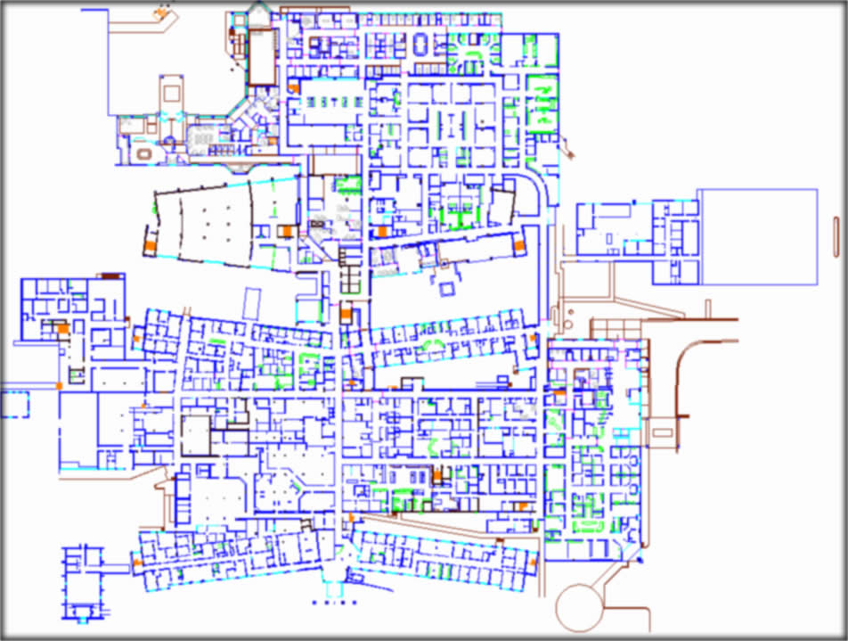 Hospital Layout FL2 FS