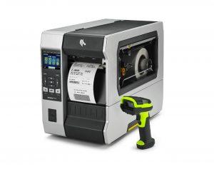Zebra ZT610 Printer With DS3608 Scanner