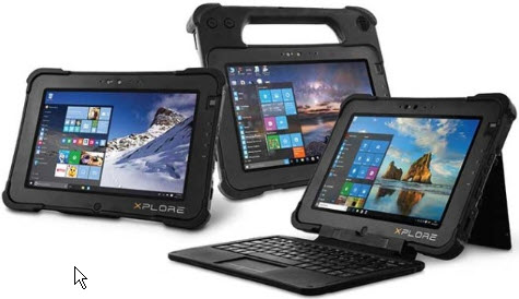 Zebra L10 Rugged Tablet Platform