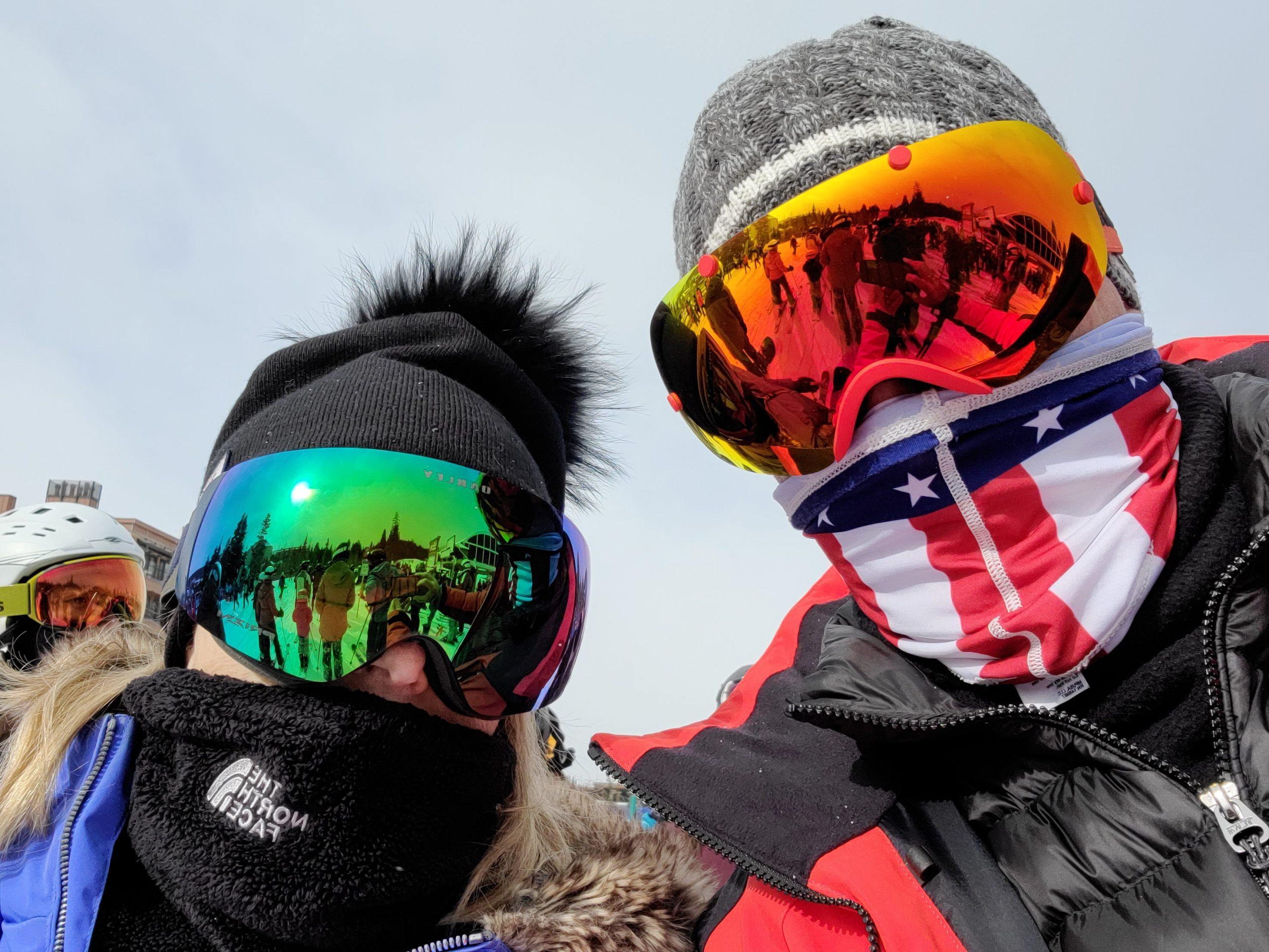 Mark & Mary Alyn Skiing
